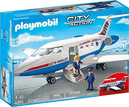 Playmobil Passenger Plane Model Aircraft Kits at amazon
