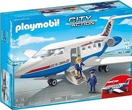 Playmobil Passenger Plane Model Aircraft Kits at amazon