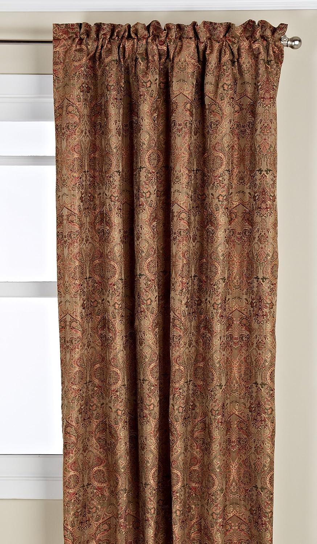 LORRAINE HOME FASHIONS Hermitage Window Curtain Panel, 54 by 63-Inch, Soft Sage