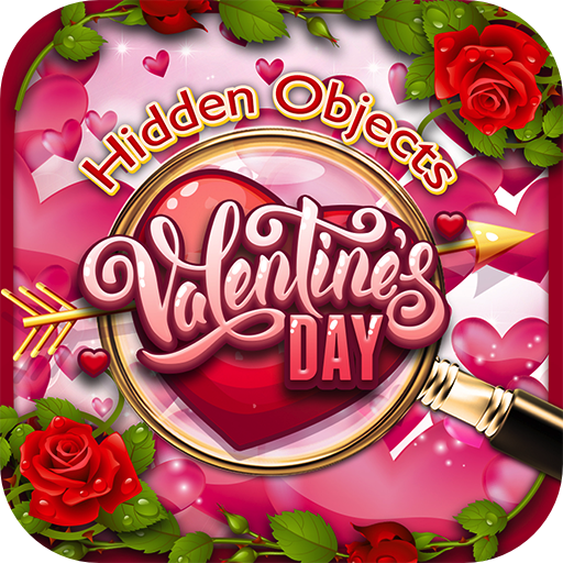 Hidden Object Valentine's Day - Worldwide Heart Gardens Seek & Find Objects Puzzle Pic Valentine Love Time