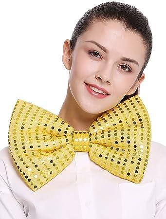 dressmeup Dress ME UP - BB-041-Gold XXL Corbata Mariposa Bowtie ...