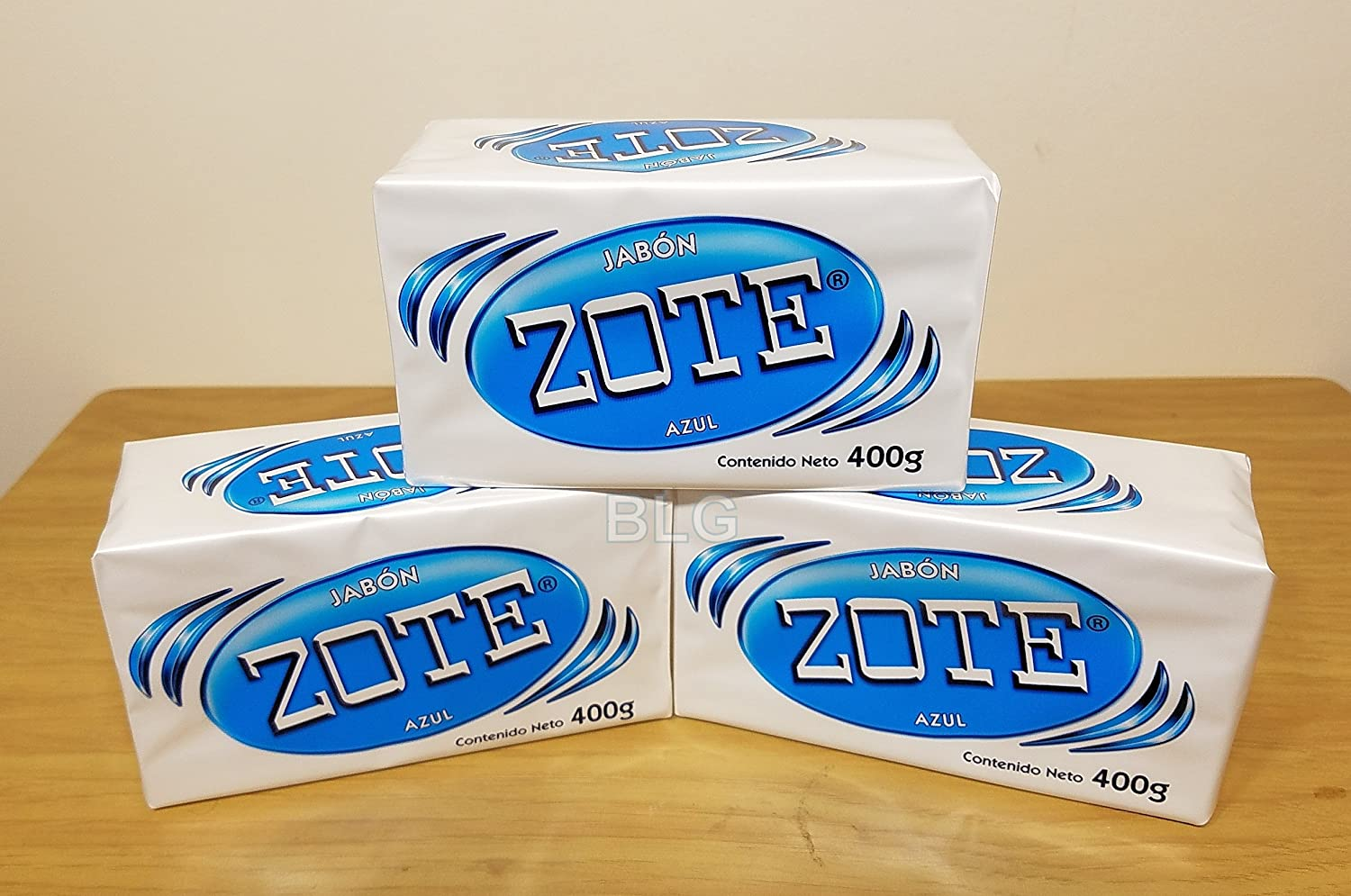 Zote Laundry Soap Bar Pink. Jabon Azul (3 Pack) cleaner washing kitchen home detergent bath 080585090197 house products.