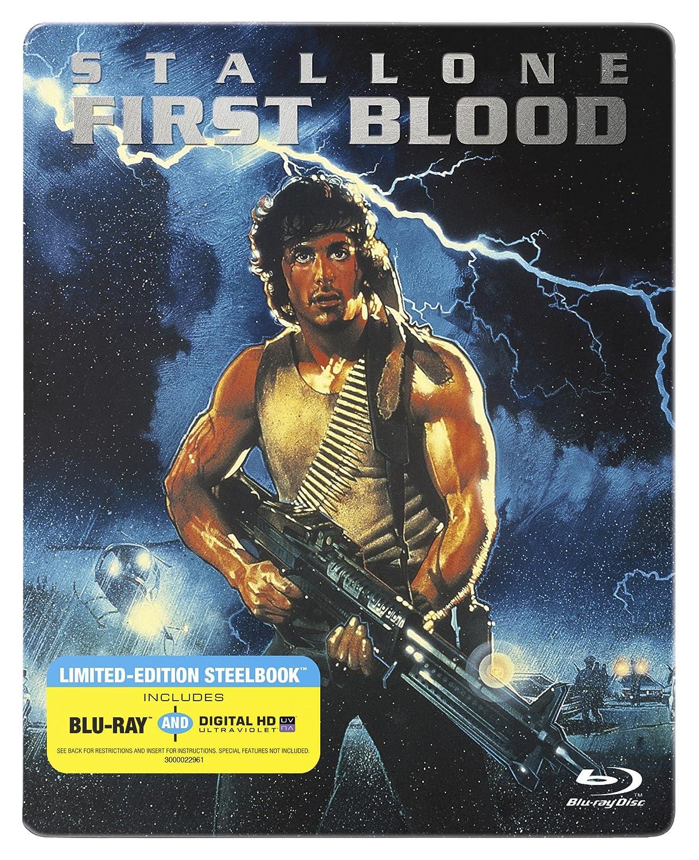 Rambo: First Blood Edizione: Stati Uniti Italia Blu-ray: Amazon.es: Sylvester Stallone, Richard Crenna, Brian Dennehy, David L. Crowley, David Caruso, Jack Starrett, David Petersen, Chuck A. Tamburro, Bruce Paul Barbour, Charles A.