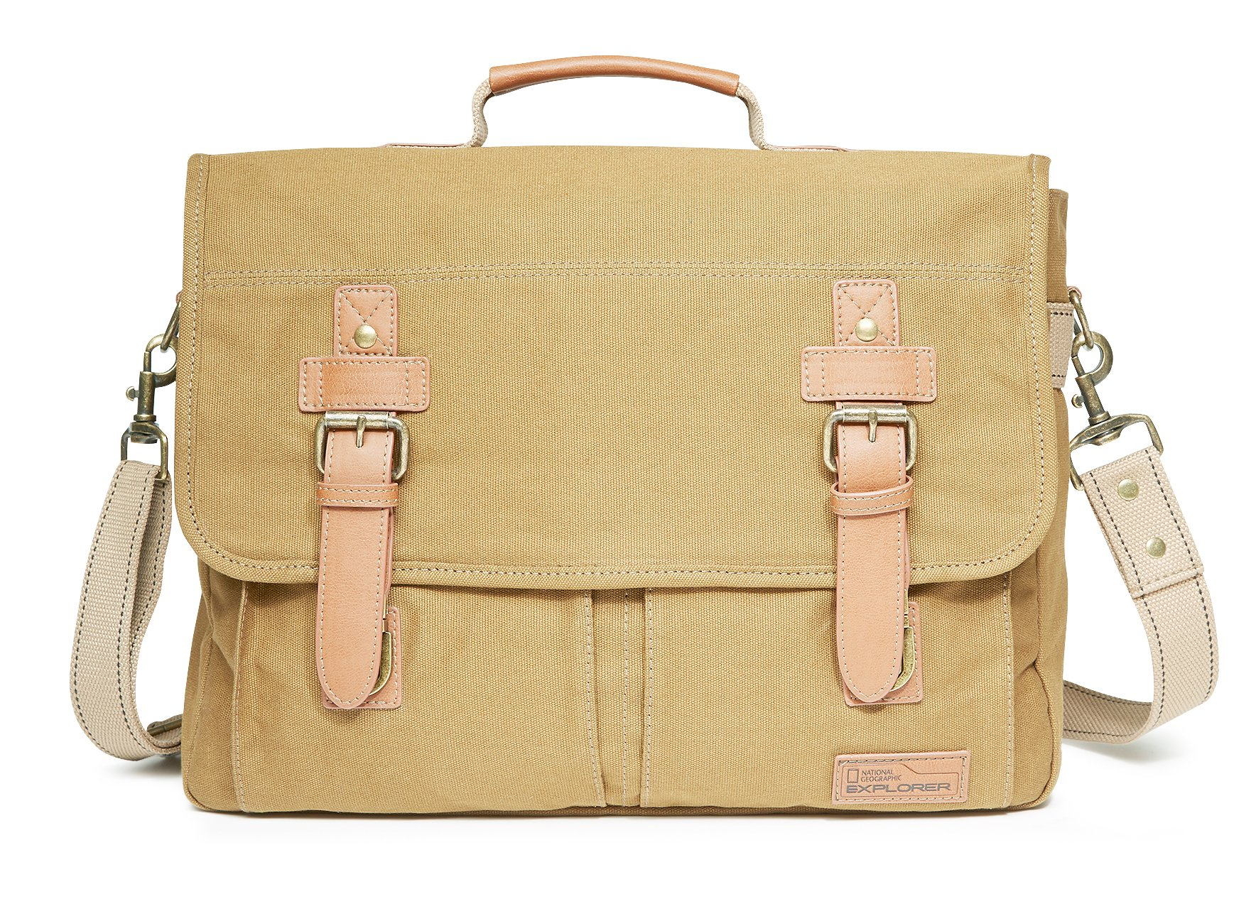 National Geographic Cape Town Messenger Bag, Khaki, One Size