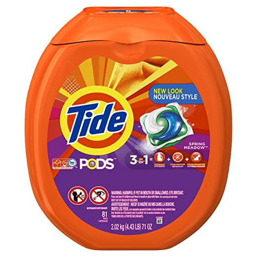 Tide PODS 3 in 1 HE Turbo Laun...
