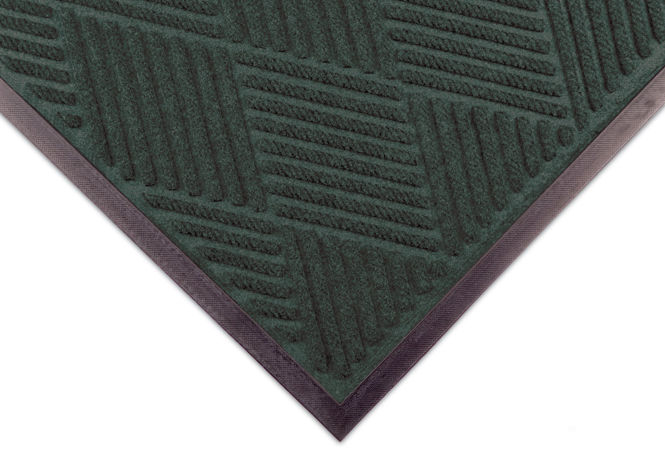 Notrax 168 Opus Entrance Mat, for Heavy Traffic Areas, 4' Width x 6' Length x 3/8'' Thickness, Hunter Green