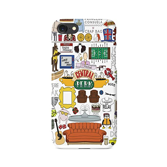 sports shoes 06d64 976a1 Amazon.com: Friends Central Perk Collage iPhone Case (iPhone 6,6+,7 ...