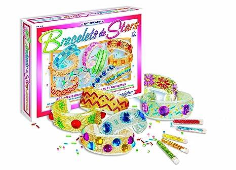 878fca7f2ed9 Sentosphere 3980813 - Creativa brazaletes estudio kit con pintura para  vidrio