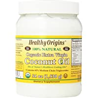Deals on Healthy Origins Organic Extra Virgin Coconut Oil 54oz
