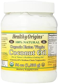 Healthy Origins Organic Extra Virgin 54-ounce Coconut Oil