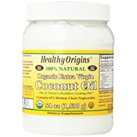 Healthy Origins Organic Extra Virgin Coconut Oil, 54 Ounce