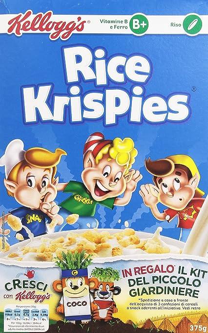 5 opinioni per Kellogg's- Rice Krispies, 375 g