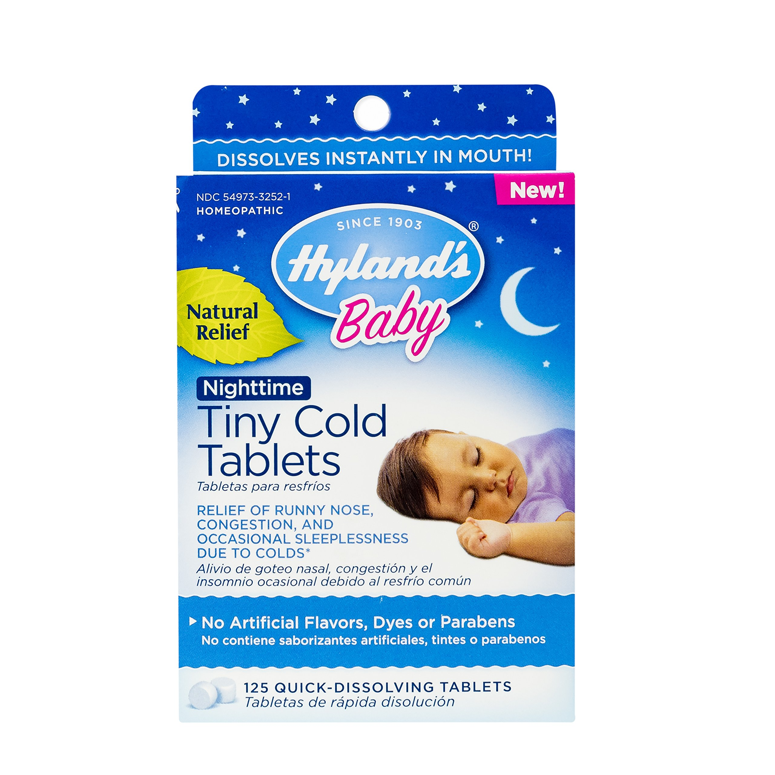 Hyland's Baby Night time Tiny Cold Tablets