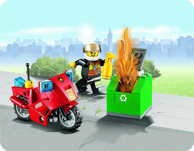 LEGO CITY 60000 - Moto de Bomberos: Amazon.es: Juguetes y juegos