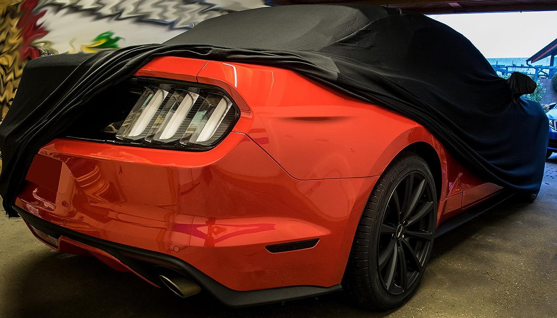 Ledmich Super Dry Outdoor Aussen Car Cover Passend Für Mustang Gt Iv V Vi Auto Schutzhülle Abdeckung Stoff Haube Schutz Tuch Abdeckplane Auto