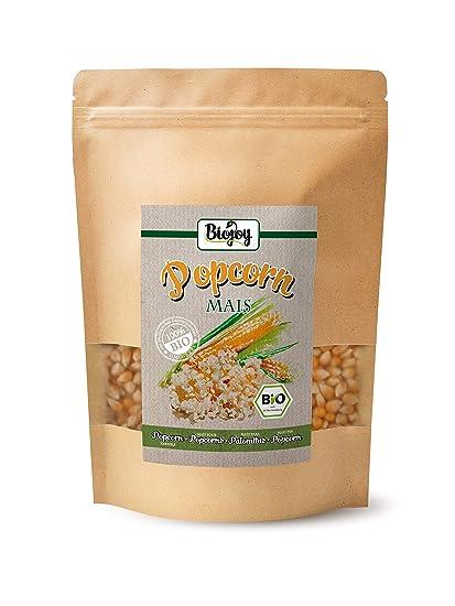 Maiz para palomitas ecologico | Maíz procedente de agricultura ecológica para palomiteros, no modificado genéticamente