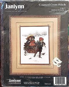 Janlynn Winter Reverie II Counted Cross-Stitch Kit