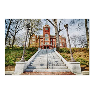 Atlanta, Georgia - Georgia Institute of Technology 9002432 (Premium 1000 Piece Jigsaw Puzzle for Adults, 20x30, Made in USA!): Toys & Games