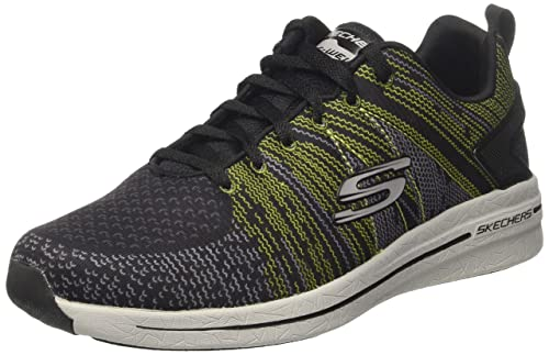 Skechers Burst 2.0-IN the MIX II, Zapatillas para Hombre, Negro (Bklm), 42.5 EU