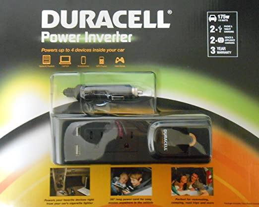 Review Duracell Power Inverter, 175