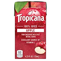 Deals on Tropicana 100% Juice Box, Apple Juice, 4.23oz, 44 Count