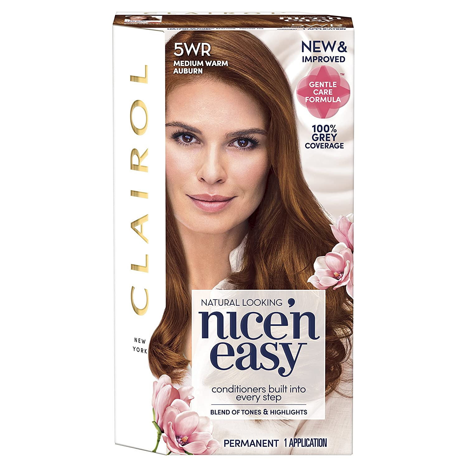 Clairol Nice' n Easy Permanent Hair Dye 6R Light Auburn Coty 81649355