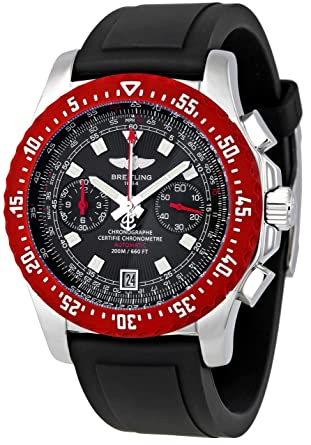 Breitling Men S A2736303 B823bkpt Skyracer Raven Chronograph Watch