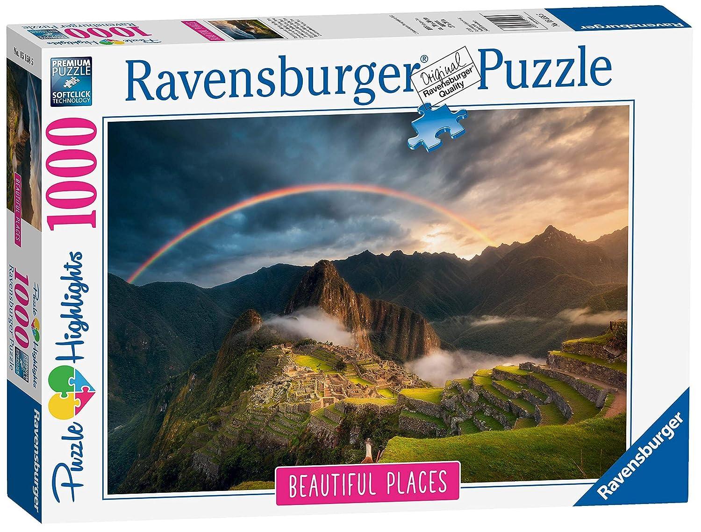 Ravensburger Peru Rainbow Over Machu Picchu, Peru B0794P1XZK 1000pc Jigsaw Ravensburger Puzzle B0794P1XZK, クラタケマチ:6b81e92f --- ero-shop-kupidon.ru