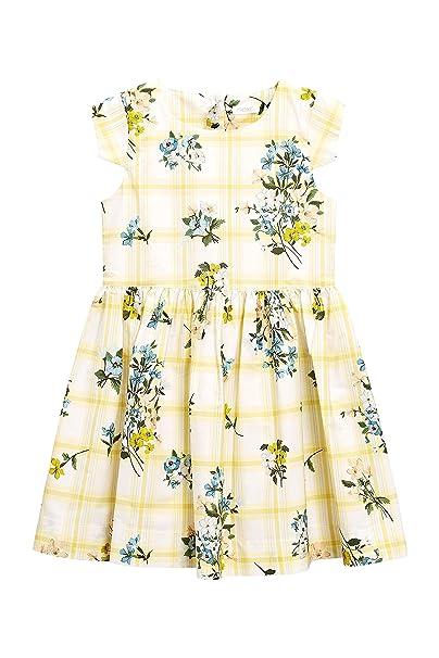 next Niñas Vestido De Graduación con Estampado Floral Y Rayas (3-14 Años)