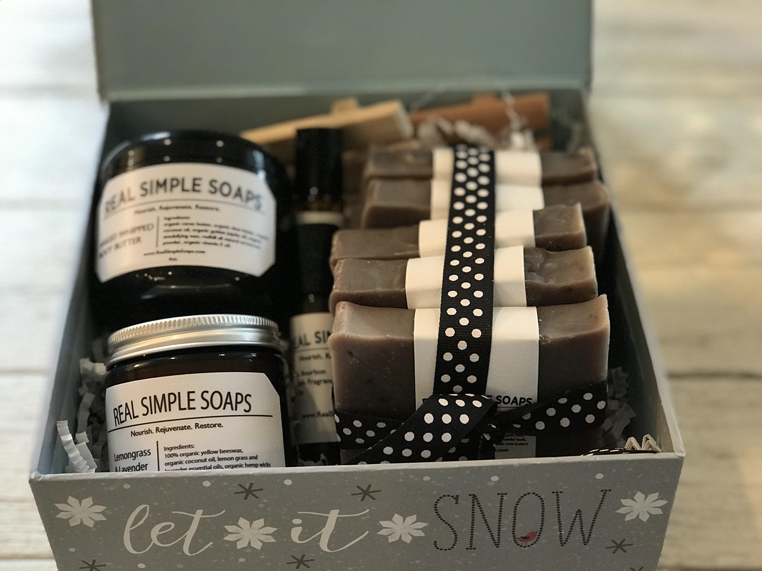 Large Lavender Gift Box