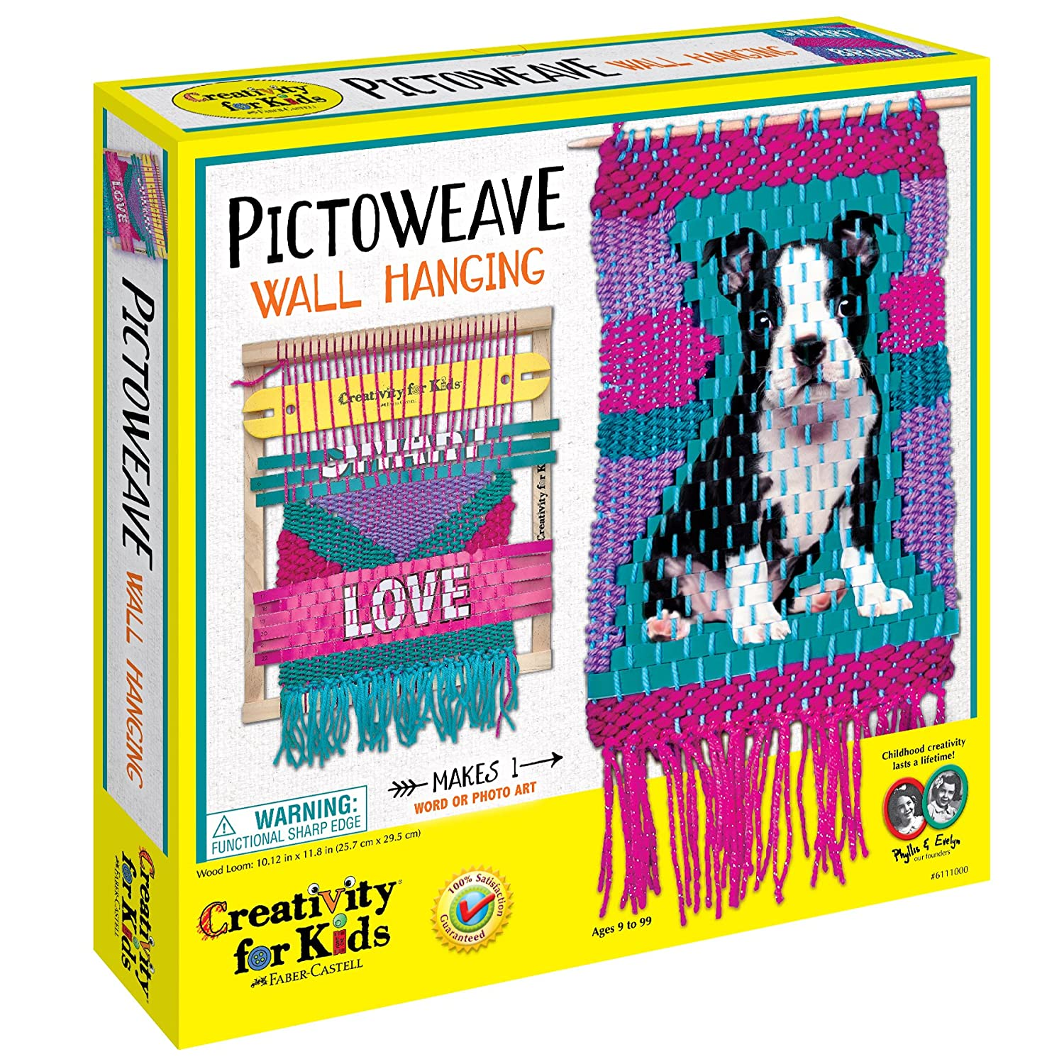 Creativity for Kids Pictoweave Wall Hanging Faber-Castell 6111000