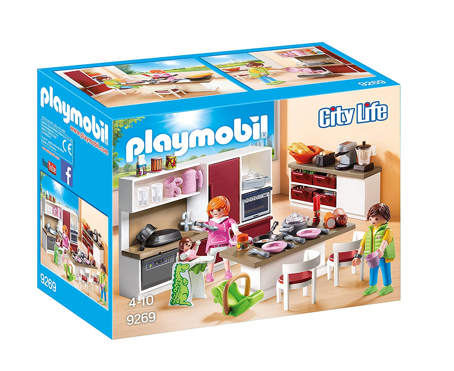 PLAYMOBIL® Kitchen Playset