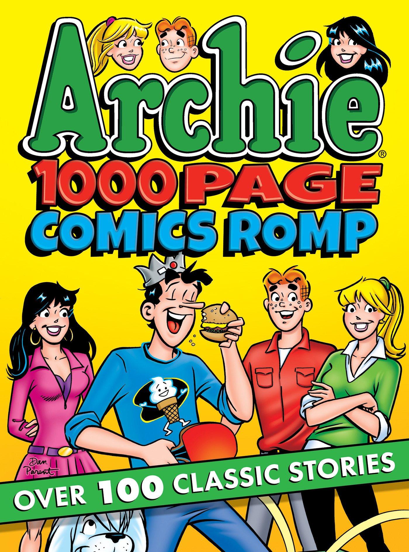 Archie 1000 Page Comics Romp (Archie 1000 Page Digests) by Archie Comics (Image #1)