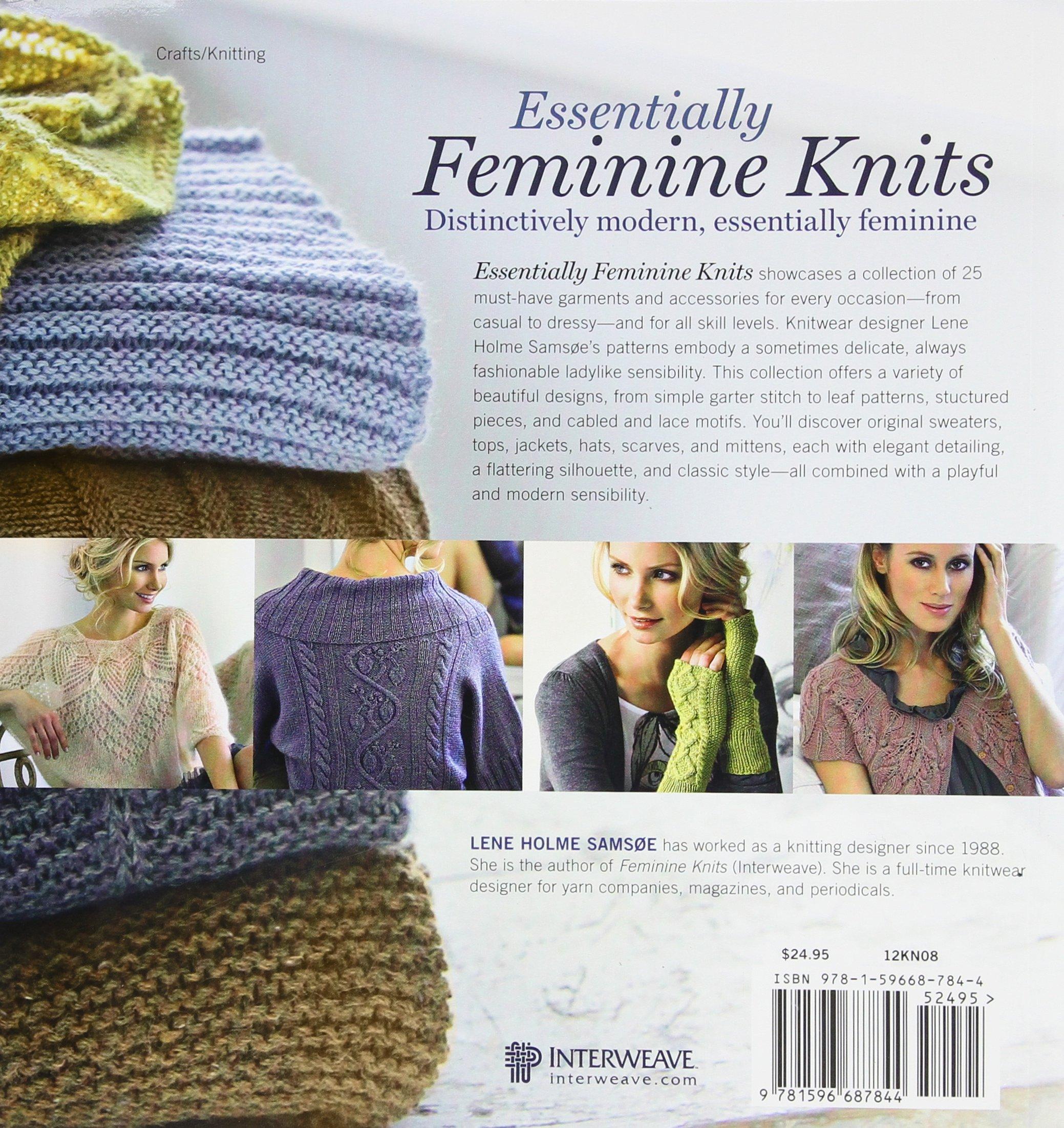 Essentially Feminine Knits: 25 Must-Have Chic Designs: Lene Samsoe ...