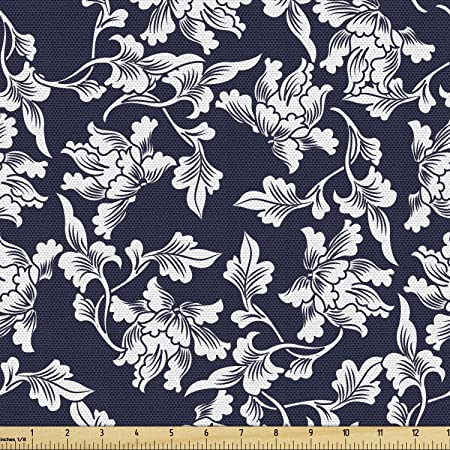 Designer Fabric by the Yard Stevie Fabric by the Yard Navy