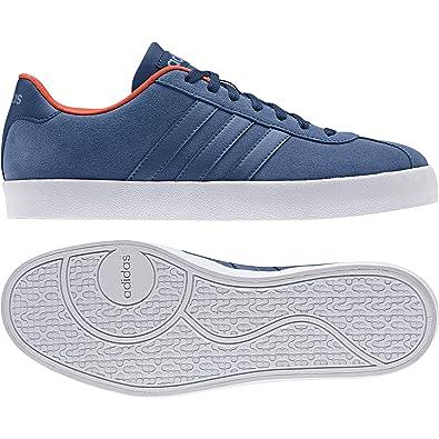 adidas vlcourt vulc baskets mode pour homme noi