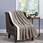 Faux Fur Throw Blanket-Luxurious, Soft
