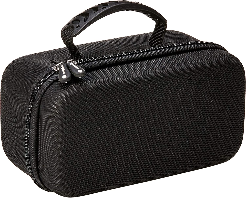 AmazonBasics Travel and Storage Hard Carrying Case for Bose Soundlink Revolve - Black