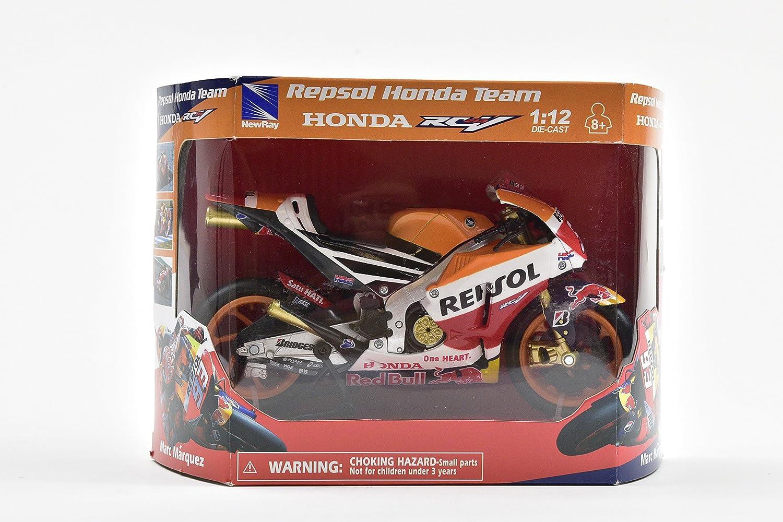New Ray nbsp;- 57753 - Moto GP Honda RedBull Marc Márquez 2015: Amazon.es: Juguetes y juegos