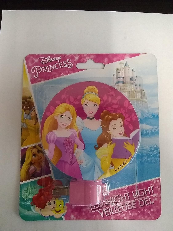 Disney Princess Night Light Rapunzel, Cinderella, Belle Fabrique