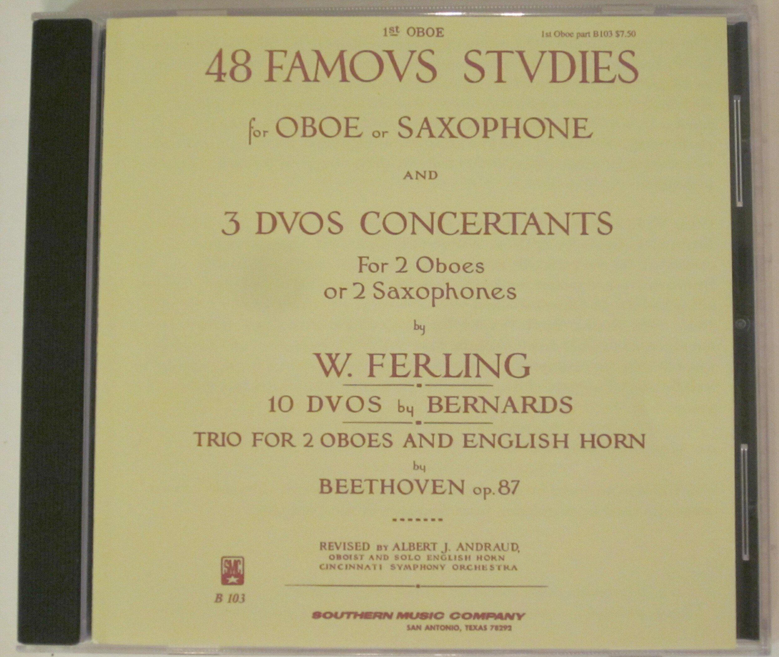 48 Famous Studies: The Complete Ferling Etudes