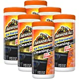 Armor All 78509 Car Interior Cleaner Protectant Wipes 25 Count Cleaning for Cars & Truck & Motorcycle