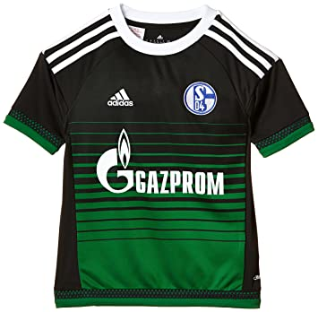 e4e1f63f0 adidas Boy s Schalke 04 Third Jersey - Night Grey Green White
