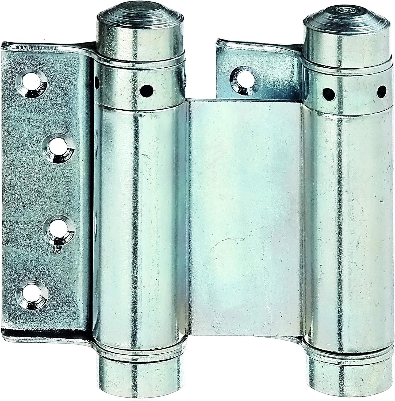 Gah-Alberts 411664 - Bisagra para puertas de vaiven (SB, acero, galvanizado, altura: 75 mm, 1 pieza por VKE)