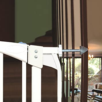 Merveilleux Dreambaby Banister Gate Adaptors, Silver