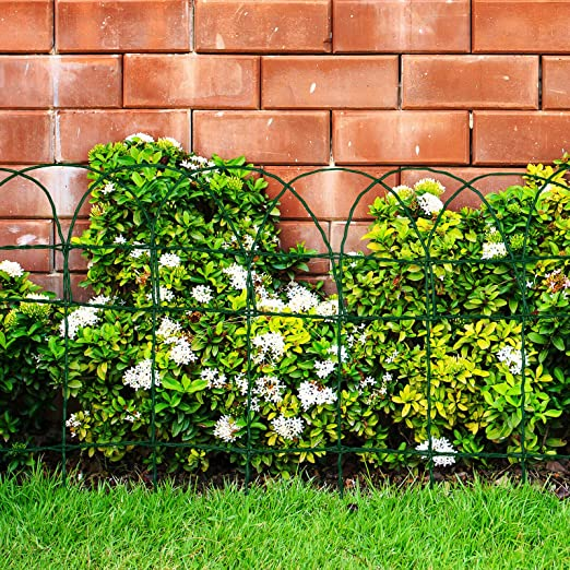 Floordirekt - Rejilla Decorativa para jardín (15 x 9 cm), Color Verde: Amazon.es: Jardín