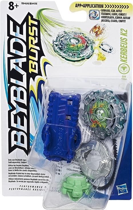 Beyblade Burst Trottola con Lanzador Kerbeus K2 (Hasbro B9490ES0 ...