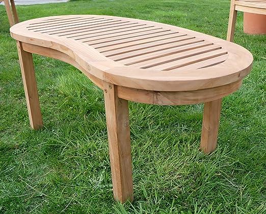 B-Ware teca sofá – Mesa auxiliar de madera mesa de jardín – Mesa ...