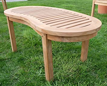 Amazonde B Ware Teak Sofa Tisch Holztisch Beistelltisch