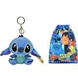 Amazon.com: Disney Stitch Angel Soft Plush Doll Key Chain ...